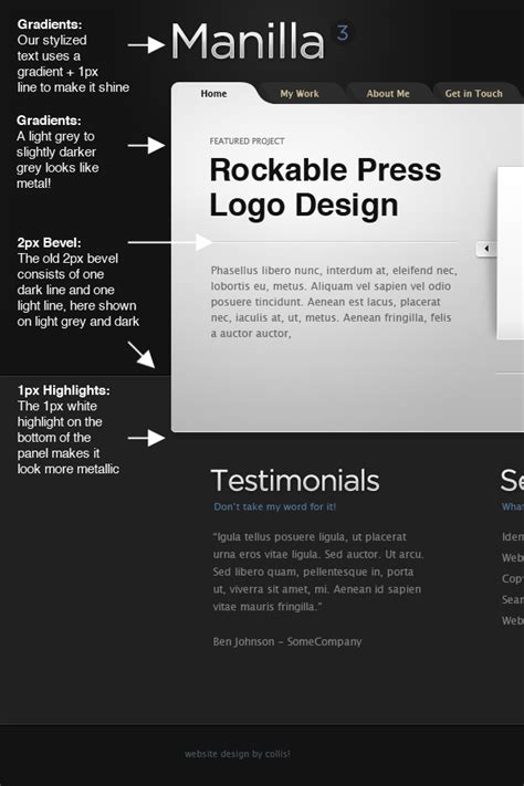 web design tutorial notes how to develop a library of web design styles