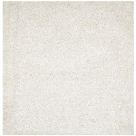 Area Rugs New Orleans Safavieh New Orleans Shag White 7 Ft X 7 Ft Square Area Rug Sg531 1111 7sq The Home Depot