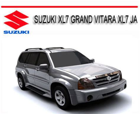 motor repair manual 2002 suzuki xl 7 parking system suzuki xl7 grand vitara xl7 ja 2001 2009 repair manual download m