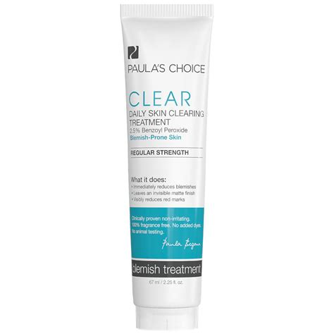 Paulas Choice Clear Kit Strenght Travel Size paula s choice clear regular strength daily skin clearing treatment skinstore