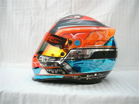 helmet design karting ckn spotlight helmet painters lsdesigns ckn