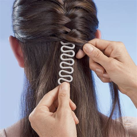 hair braided with roller outcome amazon com new 10pcs topsy tail hair braid ponytail