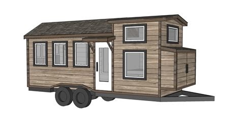 ana white  tiny house plans quartz model