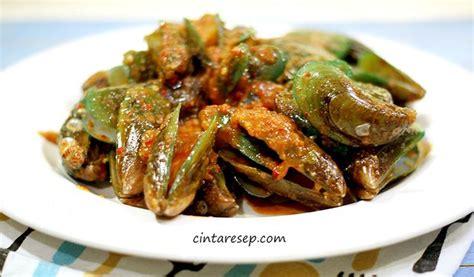 Kerang Hijau 1 Kg kerang hijau saus padang get the recipe here www cintaresep masakan padang