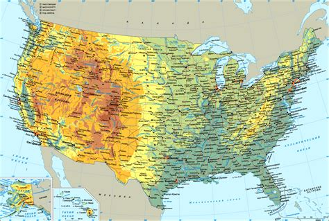 america map grand map of united states planetolog
