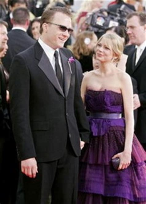 Did Heath Ledger And Williams Get Married by Give Me Spirit Fingers Dammit Decoding The