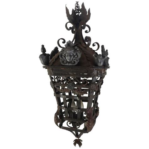 Cast Iron Lighting Fixtures 20th Century Cast Iron Light Fixture For Sale At 1stdibs