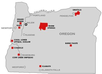 oregon indian reservations map roscoe pond november 2015