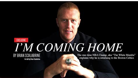 brian scalabrine spoofs lebron with quot i m coming home