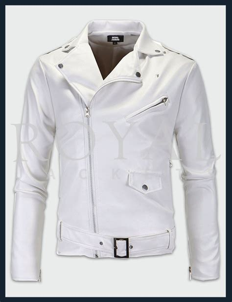 white motorbike jacket white motorcycle leather jacket for