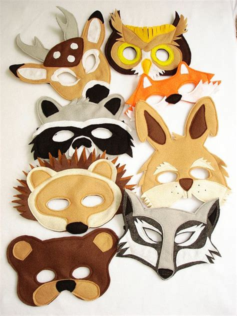 How To Make Animal Masks With Paper - 15 best ideas about animal masks on paper