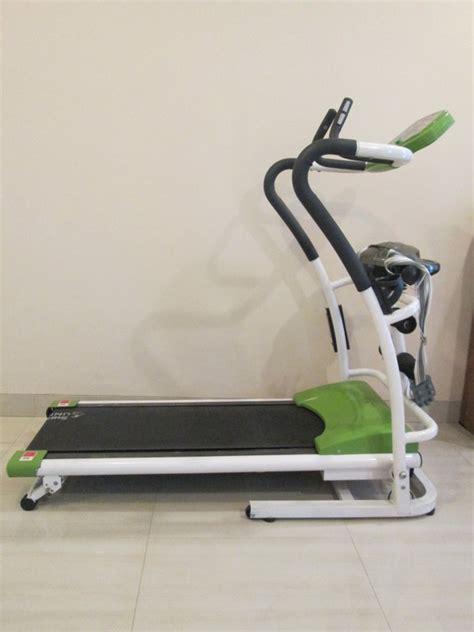 Treadmill Elektrik 1 5hp Tl 605 3 Fungsi jual alat treadmill model keren 3 fungsi sukajadi bandung