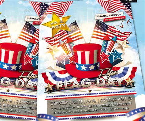 25 Printable Flag Flyer Templates Free Word Designs American Flag Flyer Template