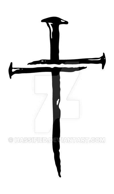 cross silhouette tattoo best 25 cross tattoos ideas on cross