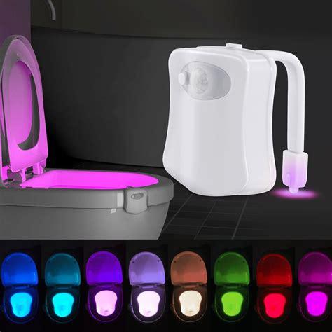 Mokka Sneakers Led 688 toilet light 8 color led motion sensor activated bathroom illumibowl seat ebay