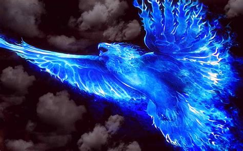 blue fire background 183