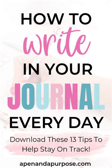 create  consistent journaling habit journal journal