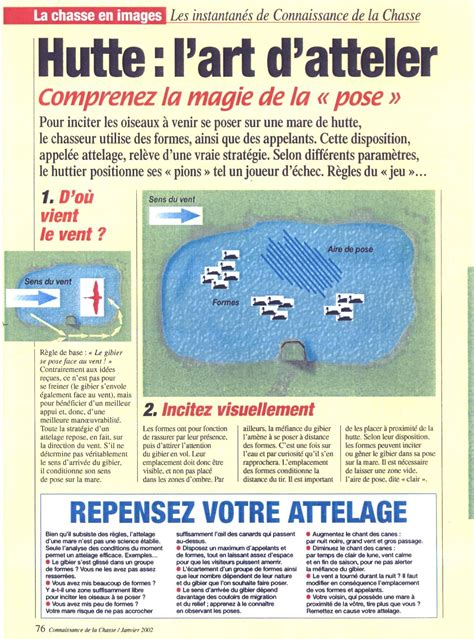 attelage canard hutte chasse petites annonces chasse