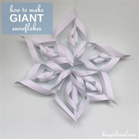 How To Make Large Paper Snowflakes - how to make paper snowflakes step by step photo