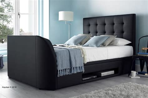 tv bed uk kaydian barnard ottoman tv bed review beds on legs blog