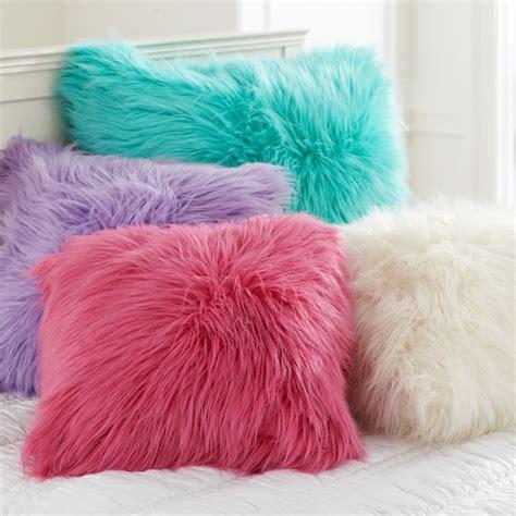 Faux Fur Pillow Cover by Fur Rific Faux Fur Pillow Cover Pbteen