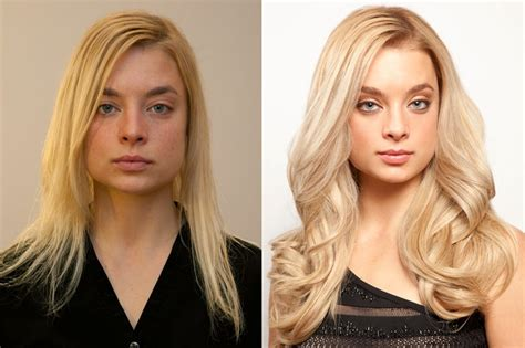extensions hair before and after the magic of the angelo david salon entertainista
