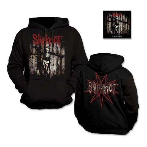 Cd Slipknot 5 The Gray Chapter slipknot 5 the gray chapter hoodie bundle