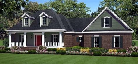 traditional southern house plans country farmhouse southern traditional house plan 59211