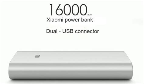 Power Bank Xiaomi 16000 xiaomi powerbank 16000 mah xiaomi