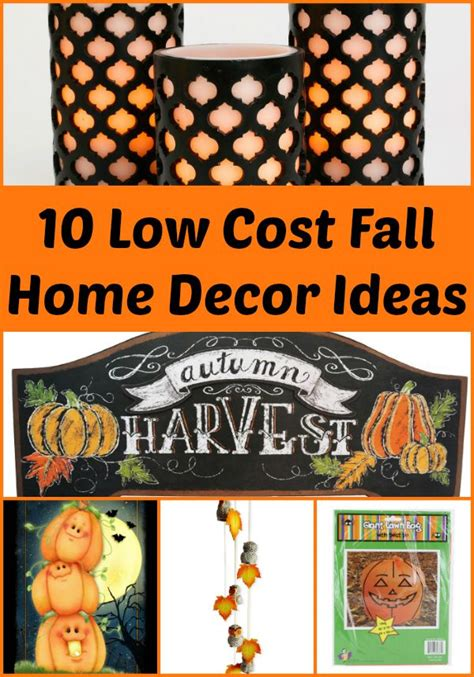 fall home decor ideas 10 low cost fall home decor items living a frugal