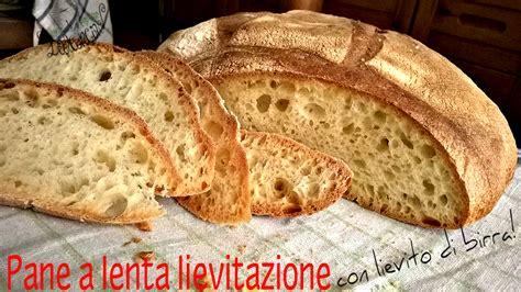 ricetta pane in casa pane fatto in casa a lunga lievitazione con lievito di birra