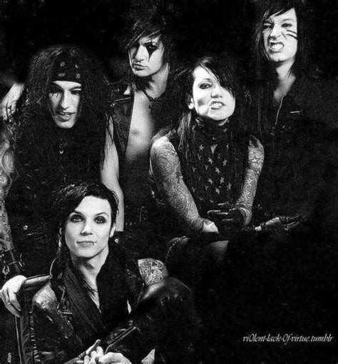 Aguilera Is Purdy by Pin Andy Biersack Purdy Black Veil Brides Boys