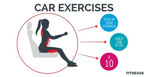 5 simple ways to exercise in your car while you commute fitneass