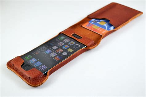 Leather Card Holder 5 iphone 5 leather and card holder