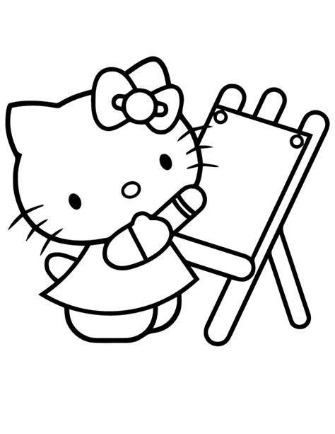 hello kitty angel coloring pages how to draw a hello kitty az coloring pages