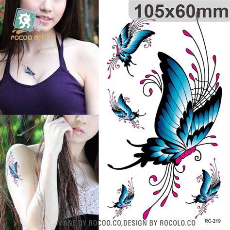 Tatoo Aufkleber Kaufen by Schmetterling Tattoo Aufkleber Kaufen Billigschmetterling