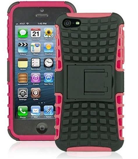 Iphone 5 Armband Rugged Hybrid Hca01 wholesale iphone 5 5s tpu pc dual hybrid with stand black pink