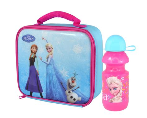 disney frozen lunch bag and bottle set ebay