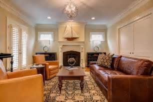 Small Formal Living Room Ideas How To Design A Living Room With Brown Leather Sofa