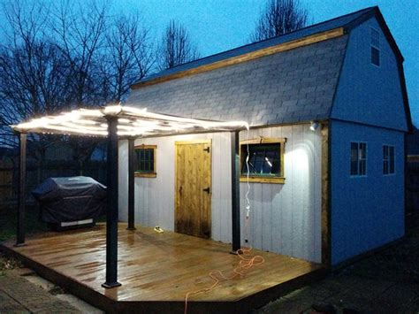man cave backyard barn meets bar and becomes the ultimate man cave backyard