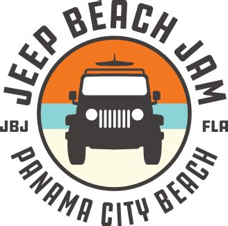 jeep beach logo jeep beach jam jeep festival in panama city beach fl