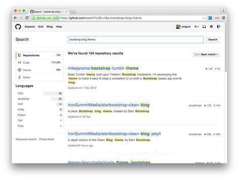 bootstrap themes bower 블로그개발 07 blog theme 적용해보기 bower webjars origoni s