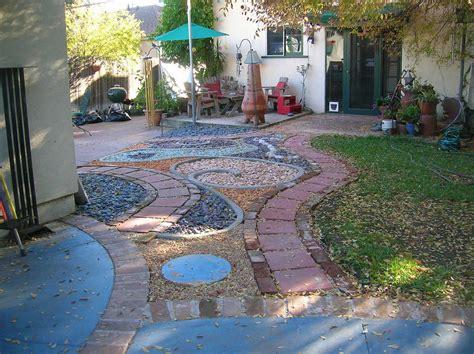 backyard landscape ideas  natural touch  modern