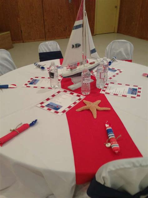 sailor nautical baby shower party ideas photo 6 of 19