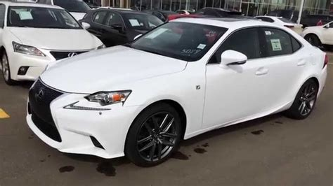 2015 lexus isf white ultra white on black 2015 lexus is 350 awd f sport
