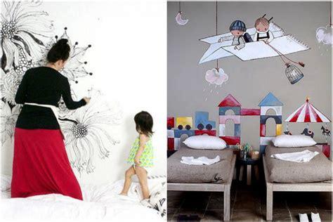 Colorare Le Pareti by 6 Idee Creative Per Dipingere Le Pareti Della Cameretta