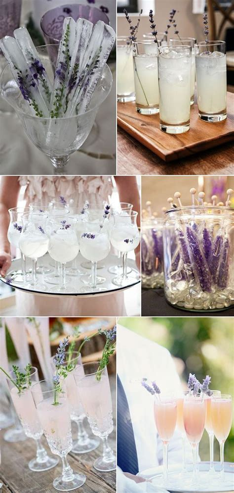 Lavender Wedding Decorations by 17 Best Ideas About Purple Signature Drinks On