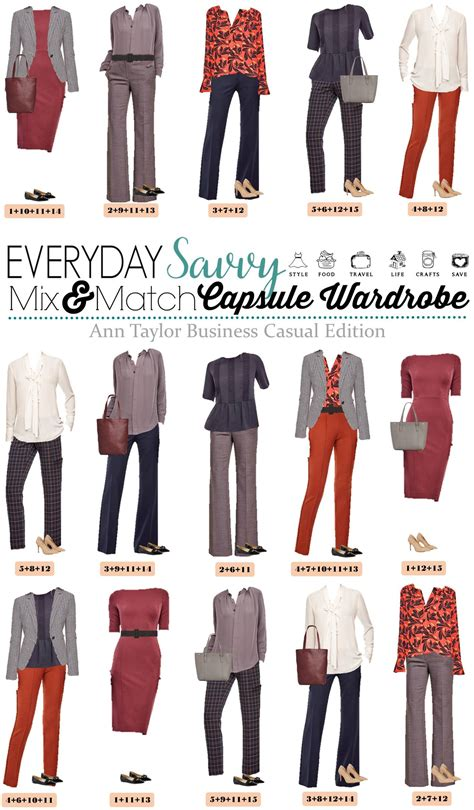 Business Casual Wardrobe by Business Casual Capsule Wardrobe