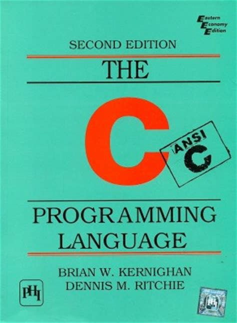 c language books buy the c programming language ansi c version 2 edition