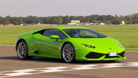 Top Gear Lamborghini Lamborghini Huracan Is Faster Than The Aventador Around